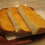 スカーレット - 山食パンのバタートースト
