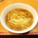 麺屋 すずらん - 2015 #049@かけラーメン/試作