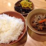 京都仕込みのかれーうどん 椿 - ご飯セット120円