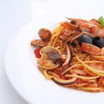 キーズ カフェ トムソーヤ - 料理写真:魚貝の旨みがたっぷりのペスカトーレ