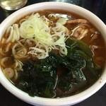 中華そば 高はし - つけ麺 スープ