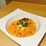 2ndCafe - エビのトマトクリーム