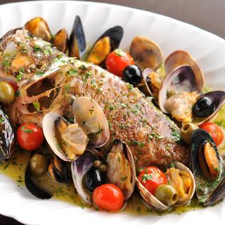 南イタリアならではの魚介たっぷりメニューが充実です!