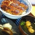 うなぎの兼光 - 鰻丼竹