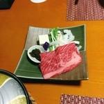 磯辺亭 - 淡路牛しゃぶしゃぶ✨       お肉が口でとろける‼