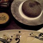 日本料理 時宜 - かわはぎのみぞれ石焼スタイル