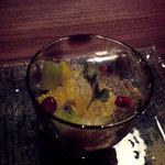 日本料理 時宜 - 吟醸ゼリー