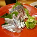 さんまる - 料理写真:秋刀魚造り&鯖きずし