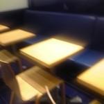 茶寮TSURU - 店内 テーブル席 ①