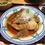 京都 つる家 花陽 - 鯛かぶと煮