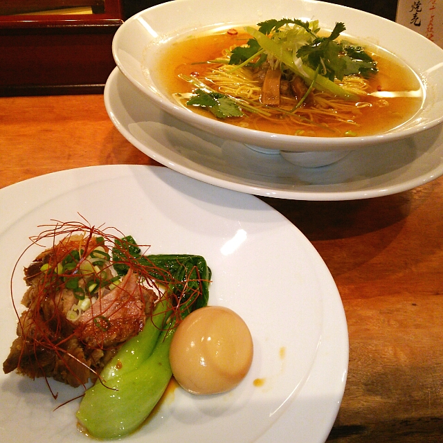 すずらん 恵比寿店 - 角煮麺❤❤具と麺が別皿ぁ~ヾ(´∀`ヾ)