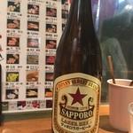 41903901 - 瓶ビールは赤星