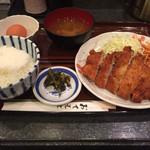 41906588 - ロースカツ定食