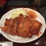 41906590 - ロースカツ定食