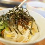 トトリ - 冷麺ビビンバランチ