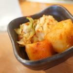 トトリ - 冷麺ビビンバランチセットキムチ
