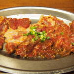 焼肉 サントキ - 料理写真:キン肉マン(ハラミ)