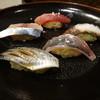 立喰すし処いなせ - 料理写真:お好み寿司(鯵・蛸・〆鯖・鰯・鮪)