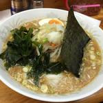 チャルメラいち番 - 料理写真:自家製味噌ラーメン(620円)
