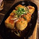 41911518 - 島豆腐のピリ辛ねぎ