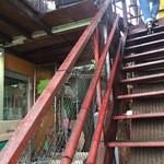 Gekko - 2階への階段