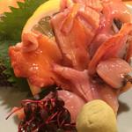 うまい魚と炭火焼 泰三屋 - 赤貝造り
