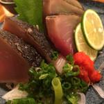 うまい魚と炭火焼 泰三屋 - カツオたたき
