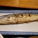 41915009 - 焼き魚の秋刀魚UP(^^)v