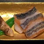 神楽坂 鉄板焼 中むら - 太刀魚と松茸のソテ!