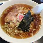 自家製麺 名無し - 醤油ラーメン(550円)_20150915