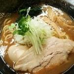 麺屋神 中川會 - 味玉濃厚魚介らーめん850円