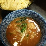 麺屋神 中川會 - 濃厚魚介つけめん750円