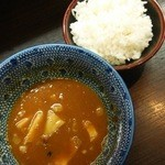 麺屋神 中川會 - カレ変ライス150円