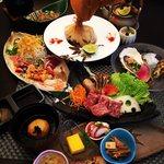 しゃんしゃん 龍 - 旬菜の特選肉コース