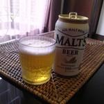 ホテル&スパ アンダリゾート伊豆高原 - 部屋の冷蔵庫内のビールは無料サービス♪