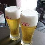 ディンギー - ☆お隣のお席で美味しそうに飲んでいる生ビールを見ちゃうと(笑)☆