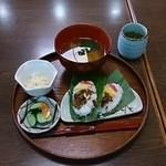 味蔵 月あかり - 笹寿司定食1