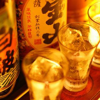 こだわりの焼酎と九州料理