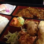 梁山泊 - 料理写真:日替り 730円