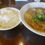 41922349 - 菜菜ラーメンとライス