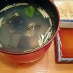 神楽坂寿司幸 - お吸い物