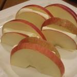 41925499 - リンゴとクリームチーズ