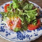 モンペリエ - 料理写真:前菜サラダ!