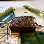 山猫軒 - カイノミの串焼き