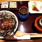 41929801 - まぶし丼(だし) 1,706円(税込み)