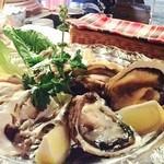 ベガーズハーレム - 厚岸産 漁師さん直送 生牡蠣