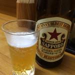 まるいち - ビールは550円