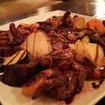 Cafe Chillax - 和牛ステーキと夏野菜 バルサミコソース