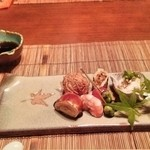 創作料理 中村屋 - つきだし(湯葉本会席)