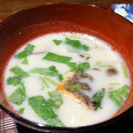 和食家 金魚 - 鮭の豆乳仕立て
